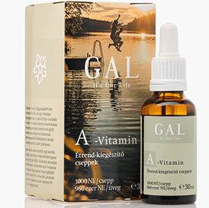 A-vitamin olaj - 30ml