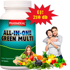 All-In-One Green Multivitamin  -  210db