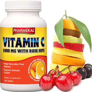 C-VITAMIN 1000mg + Biofl.  -  100db