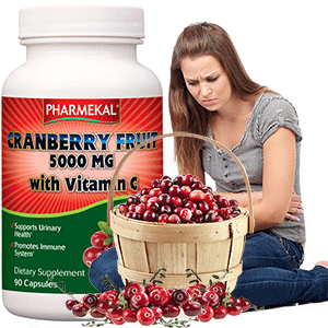 Tőzegáfonya (Cranberry) 5000mg - 90db
