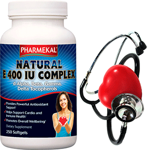 E-vitamin Natural Komplex 400IU  -  250db