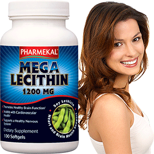 Mega Lecitin 1200mg - 100db