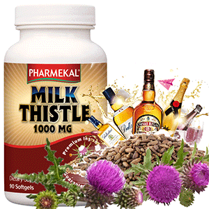 Milk Thistle (Máriatövis) 1000mg  -  90db