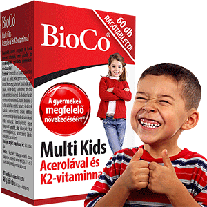 Multi Kids gyerek multivitamin - 60db