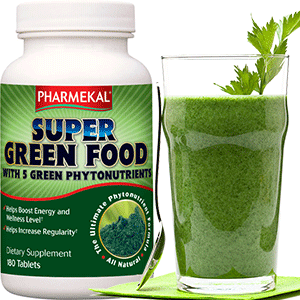 Super Green Food - Alga Komplex - 180db